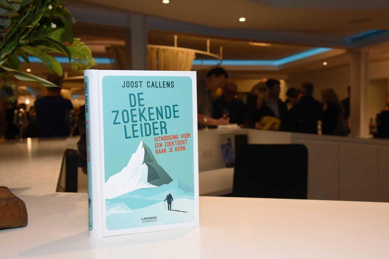 Joost Callens lanceert 2e boek: De Zoekende Leider