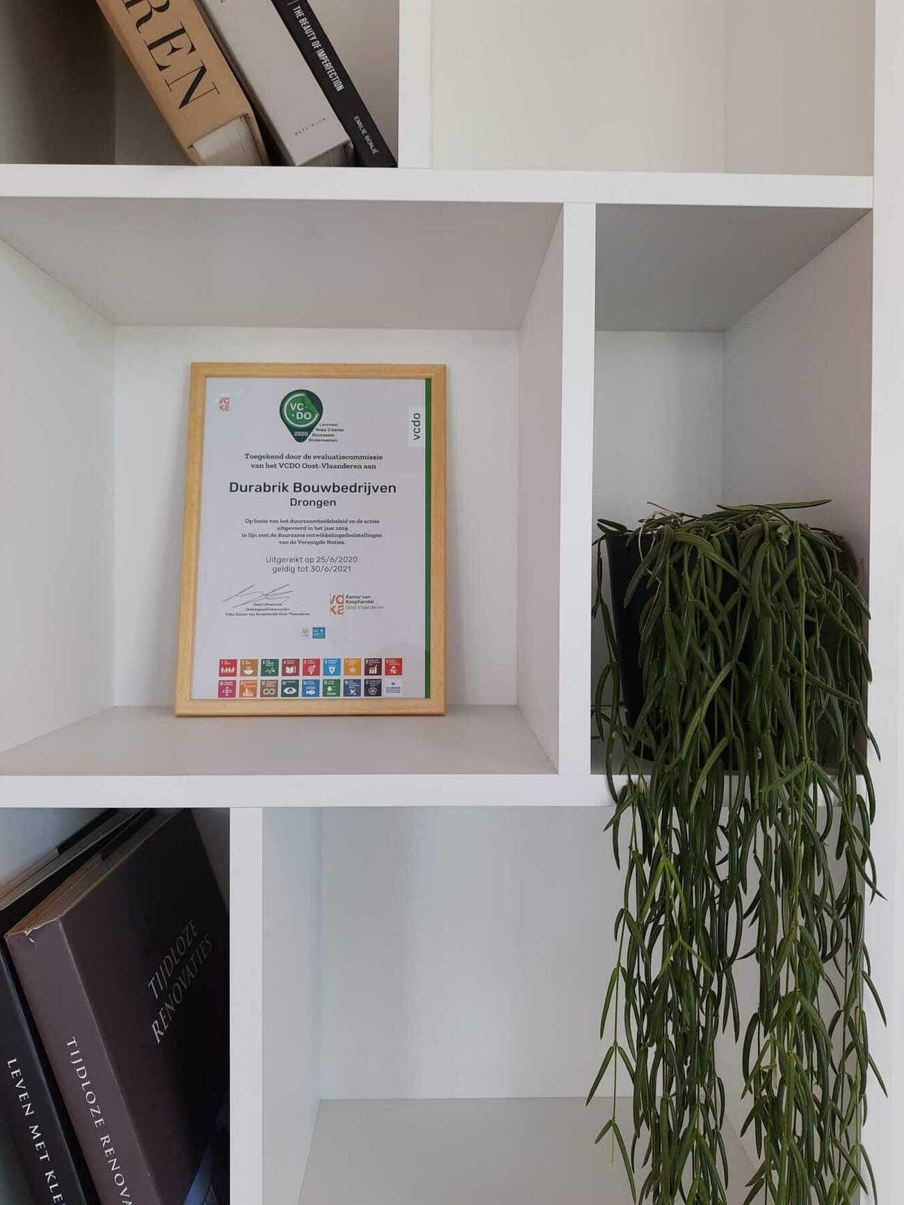 Derde Voka Charter Duurzaam Ondernemen voor Durabrik