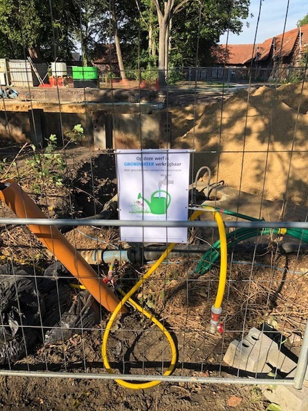 Durabrik recupereert werfwater in Wondelgem