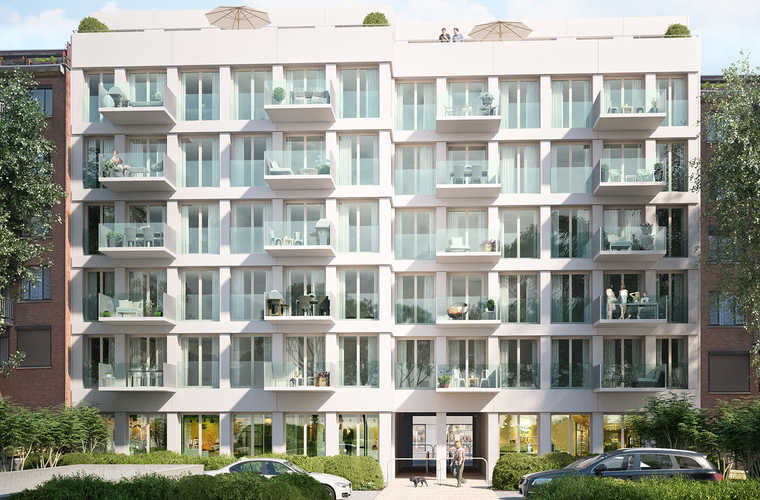 Mortsel - Antwerpsestraat - Residentie Parkhof
