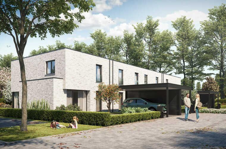 Hof van Straeten - Popstaelstraat/Legeweg